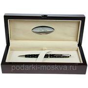 "Ручка шариковая ""LA GEER"", стерлинговое серебро, шкатулка - дерево 50511-BP фото"
