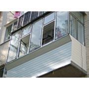 Внешняя отделка балконов фото