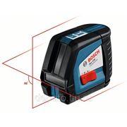 Линейный лазерный нивелир Bosch GLL 2-50 + вкладка под L-Boxx 0601063104 фото