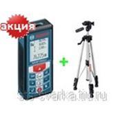 Лазерный дальномер Bosch GLM 80 Professional + штатив BS 150