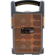 Ящик для инструментов FIT (органайзер) пластиковый (34х20х6 см) фото