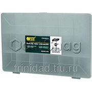 Ящик для инструментов FIT пластиковый прозрачный (27.5 х 18.5 х 4.2 см) фото