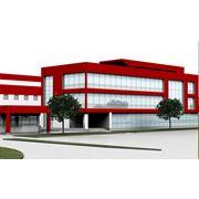 Проектирование зданий производственного и общественного назначения. фото