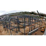Проектирование металлоконструкций для строительства зданий фото
