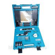 Набор инструментов Makita 104 предмета, в кейсе фото