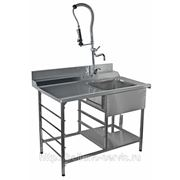 Стол производ. для грязной посуды СГПП-12/7.2 ДН фото