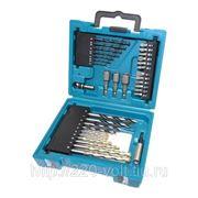 Набор инструментов Makita 34 предмета, в кейсе фото