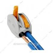 Соединительные клеммы на 2 провода WAGO 412 (с завод.надписями) №145710 фото