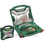 Набор инструментов Bosch X-line 100 titanium фото