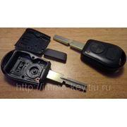 Заготовка чип ключа для БМВ, 2 кнопки, HU58 (kbm029) фото