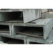 Лотки и плиты покрытия теплотрасс Л-6д-8 720х1160х530мм фото