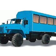Автобусы вахтовые УРАЛ-32552-0011-41 4х4 15 мест, Автобусы вахтовые фото