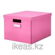 Коробка с крышкой, розовый ТЬЕНА фото