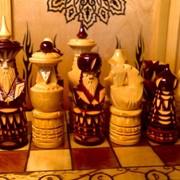 Шахматы резные 50х50 фото