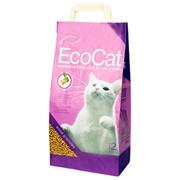 Наполнитель для кошачьего туалета древесный EcoCat фото