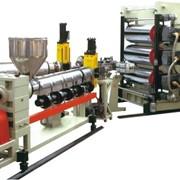 Линия для производства однослойных/многослойных ПЭ,ПП,ПС,ABS листов T0.5~30 фото
