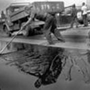 Битум строительный БН 90/10, грузовой автомобиль фото