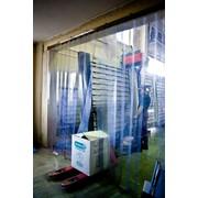 Теплоизолирующие полосовые пластиковые завесы-шторы из ПВХ фото