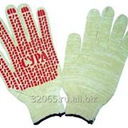 Перчатки с ПВХ 22 размер 10 класс ЭКОНОМ с протектором упаковка (15/240)пар фото