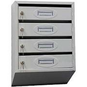 Почтовый ящик «Стандарт», 4 секции фото