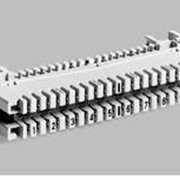 Плинт LSA PROFIL® ЕС-1005А на 10 пар с размыкаемыми контактами(аналог 6089 1 121-06) фото
