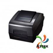 Принтер этикеток Bixolon SLP-T400CG термотрансферный 203 dpi темный, USB, RS-232, LPT, отрезчик, кабель, 106651 фото