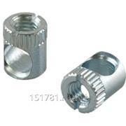 BO04 Стяжка коническая, D=10мм, L=13мм, М6, сталь, цинковое покрытие фото