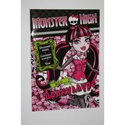 "Monster High Школа Монстров - Журнал Монстер Хай ""Всё о Дракулауре"" фото"