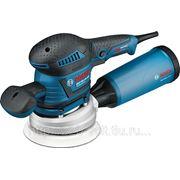 Машинка шлифовальная орбитальная (эксцентриковая) Bosch Gex 125-150 ave l-boxx фото