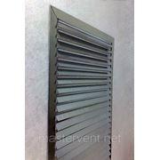 Решетка вентиляционная 400х700мм наружная прямоугольная накладная фото