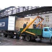 Разгрузка крупногабаритных и нестандартных грузов