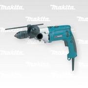 Двухскоростная ударная дрель HP2071 фото