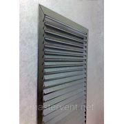 Решетка вентиляционная 300х300мм наружная прямоугольная накладная фото