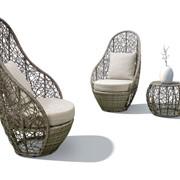 Комплект плетеной мебели Эгги фото