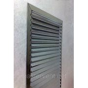 Решетка вентиляционная 500х700мм наружная прямоугольная накладная фото