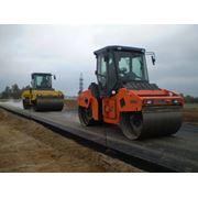 Строительство автострад дорог взлетно-посадочных полос фото