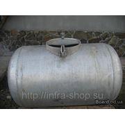 Бочка из черного металла 200 литров б\у фото