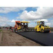 Строительство автострад. фото