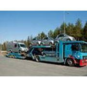 Услуги по перевозке автомобилей фото
