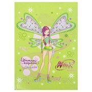 WInx. картон цветной winx а5 10 листов, 10 цветов (822599)