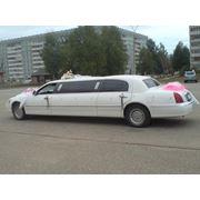 "Лимузин белый Lincoln ""Town Car"" фото"