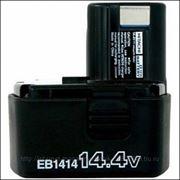 Аккумулятор HITACHI 14,4V 1,4 А/ч (ЕВ1414S) 322-633 фото