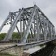 Мостовые металлоконструкции (металлические пролетные строения пешеходных переходов и путепроводы) фото