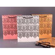 Комплект пакетов бумажных из 6 шт в ассортименте 32*26*11 см. (605074) фото