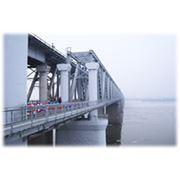 Строительство железнодорожных мостов фото