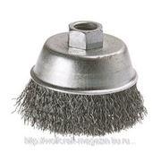 Щетка-чашка Wolfcraft из стальной проволоки для УШМ, М14