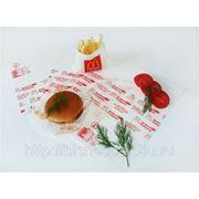 Обертка для гамбургера фото