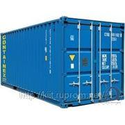 Морские ISO контейнеры 20-и футовые фото