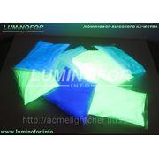Люминофор BLO-7D голубого свечения ( для метала, пластика, стекла) фото