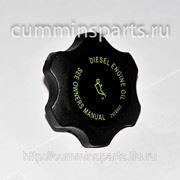 Крышка маслозаливной горловины CUMMINS 6СT8.3, QSC, ISC 3968202 3942135 3944736 3945254 3937759 3973511 фото